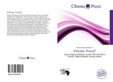 Bookcover of Fatima Yusuf