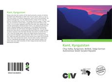 Bookcover of Kant, Kyrgyzstan