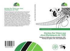 Capa do livro de Hockey Sur Glace aux Jeux Olympiques de 1920