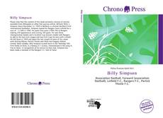 Bookcover of Billy Simpson