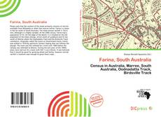 Bookcover of Farina, South Australia