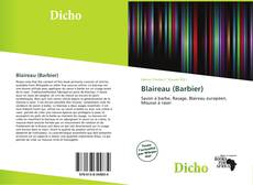 Borítókép a  Blaireau (Barbier) - hoz