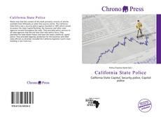 California State Police的封面