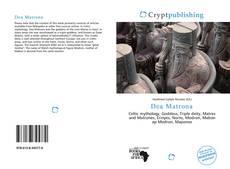 Dea Matrona kitap kapağı