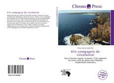 Bookcover of 61e compagnie de circulation
