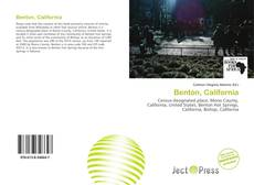 Bookcover of Benton, California