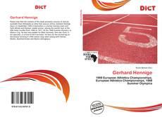 Buchcover von Gerhard Hennige