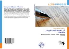 Bookcover of Long Island Board of Rabbis
