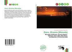 Bookcover of Goro, Oromia (Woreda)