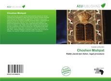 Bookcover of Choshen Mishpat