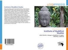 Copertina di Institute of Buddhist Studies