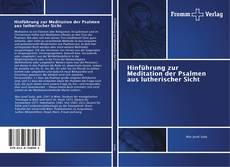 Portada del libro de Hinführung zur Meditation der Psalmen aus lutherischer Sicht