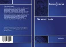 Buchcover von Für immer, Marie