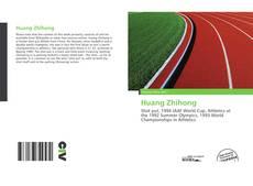 Huang Zhihong kitap kapağı