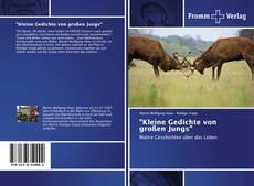 """Copertina di """"Kleine Gedichte von großen Jungs"""""""