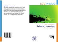 Bookcover of Epinotia immundana