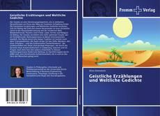 Buchcover von Geistliche Erzählungen und Weltliche Gedichte