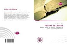 Copertina di Histoire de Cesena