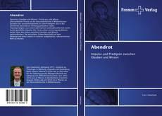 Buchcover von Abendrot