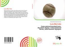 Portada del libro de Luis Borroto