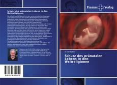 Capa do livro de Schutz des pränatalen Lebens in den Weltreligionen