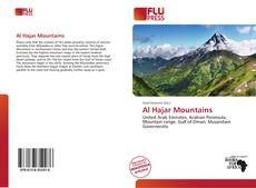 Couverture de Al Hajar Mountains