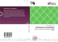 Architecture métallique kitap kapağı