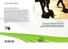 Couverture de George William Brown
