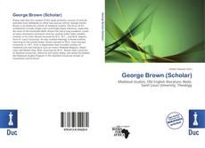 George Brown (Scholar)的封面