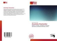 Buchcover von Anatoliy Hrytsenko