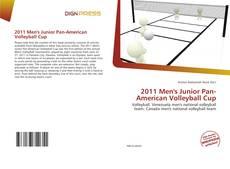 Portada del libro de 2011 Men's Junior Pan-American Volleyball Cup