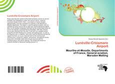 Bookcover of Lunéville-Croismare Airport