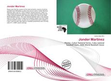Bookcover of Jonder Martínez