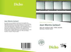 Bookcover of Jean Worms (acteur)