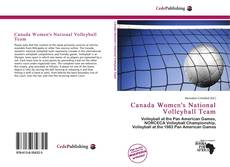 Canada Women's National Volleyball Team的封面