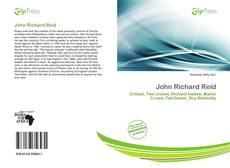 Bookcover of John Richard Reid