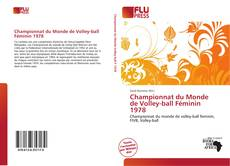 Bookcover of Championnat du Monde de Volley-ball Féminin 1978