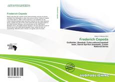 Portada del libro de Frederich Cepeda