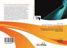 Capa do livro de Army of Occupation of Germany Medal