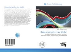 Capa do livro de Humanitarian Service Medal