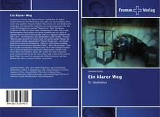 Capa do livro de Ein klarer Weg