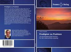 Borítókép a  Predigten zu Psalmen - hoz