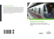 Bookcover of Gaiemmae Station