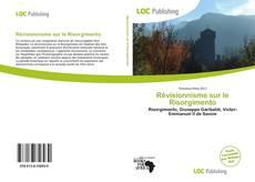 Révisionnisme sur le Risorgimento kitap kapağı