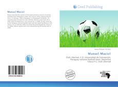 Portada del libro de Manuel Maciel