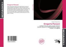 Capa do livro de Gregorio Panzani