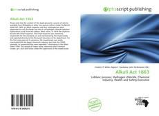 Alkali Act 1863的封面