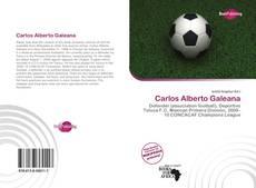 Capa do livro de Carlos Alberto Galeana