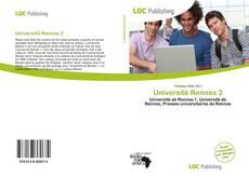 Buchcover von Université Rennes 2