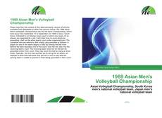 Couverture de 1989 Asian Men's Volleyball Championship